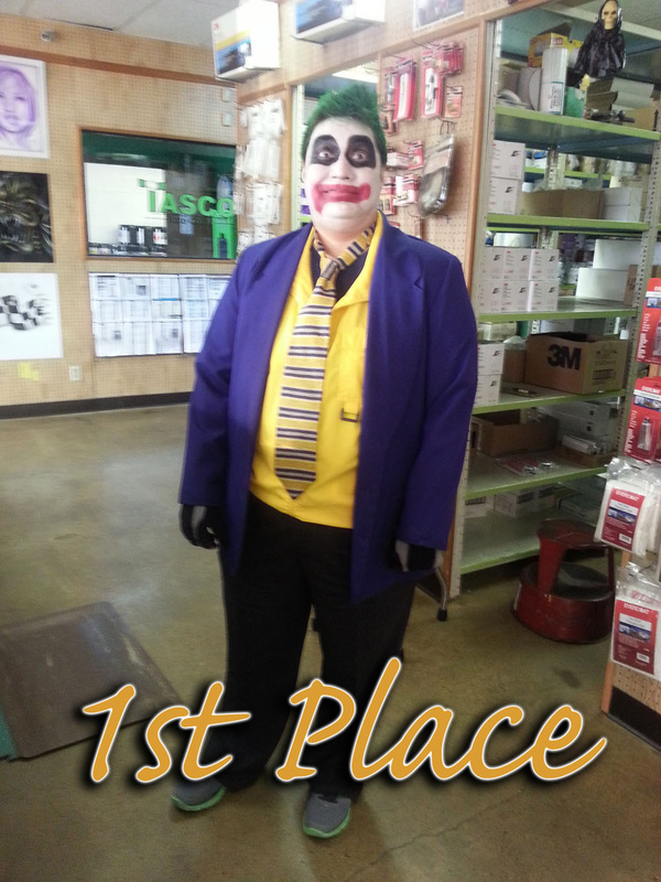1st Place Winner - The Joker - Sonia Rios